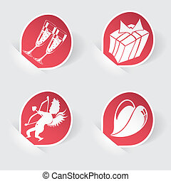 Collect Sticker for Valentine's Day