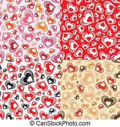 Valentines Day Seamless Pattern - Collect Valentines Day...