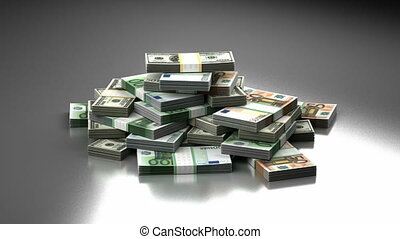 Stack of Money (seamless)