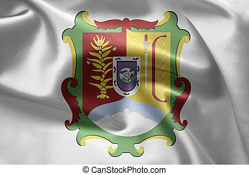 Nayarit (Mexico) - Excellent vivid images of flags for you....
