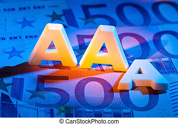 the triple a of a rating agency aaa - a rating agency has...