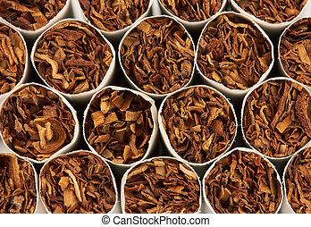 Closeup of a cigarettes