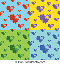 hearts seamless wallpaper