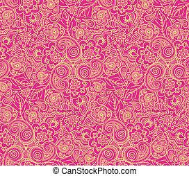 Seamless lace pattern - Seamless elegant lace pattern-model...