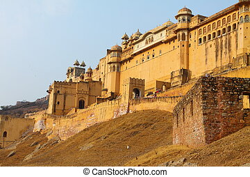 Amber Fort in Jaipur in India