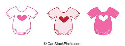 Valentine Baby Clothes - Happy valentines day baby clothes