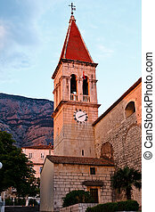 Saint Mark's Church in Makarska, Croatia