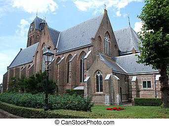 St. Michaels church. - St. Michaels church in Oudewater, The...