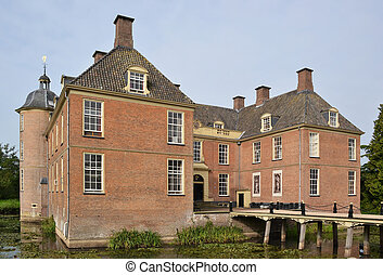 Castle Slangenburg. - Castle Slangenburg in Doetinchem, The...