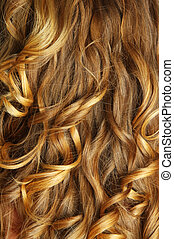 beautiful hair - beautiful blonde hair closeup