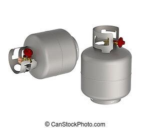 gas, tanque