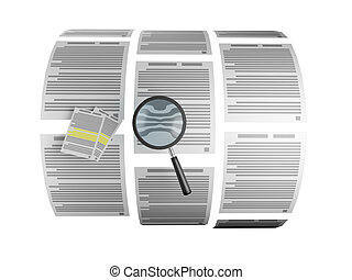 3d the Image: the Magnifier searches for the necessary line...