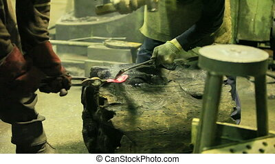 Smithy  - Old Forge, blacksmiths at work