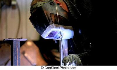 welder manual argon-arc welding
