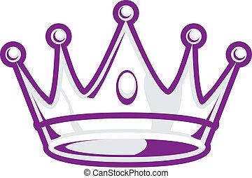 銀, 王冠