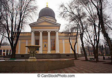 Nickolayev church, Odessa - View of Nickolayev church,...