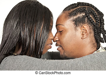 Black African American Couple