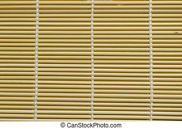 bamboo curtain - background of bamboo curtain , closeup