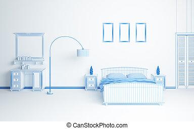 interior composition - Modern interior composition....