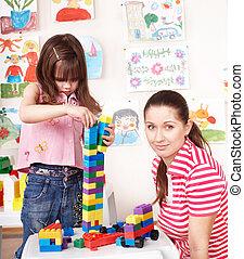 s, 建設, わずかしか, 女の子, 遊び