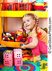 Child play block and construction. - Child play block and...