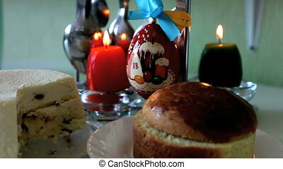 Easter  - holiday table