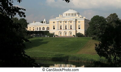 palace - Palace of the Russian emperor Paul in St Petersburg...