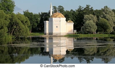mosque - The mosque on the shores of Lake