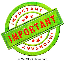 important icon - important label highest importance icon...