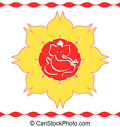 God Ganesha - Indian God Ganesha design