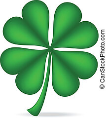 shamrock - Shamrock isolated over white background