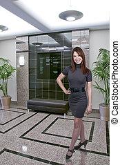 Beautiful Woman - A beautiful young upwardly mobile business...