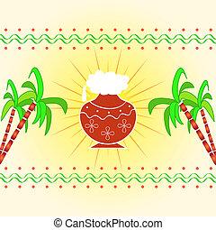 Indian festival design - Indian harvest festival design