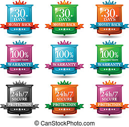 web satisfaction guarantee badges - web satisfaction...