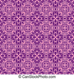 Pink fun seamless pattern May be used as background
