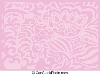 Pink gentle romantic background