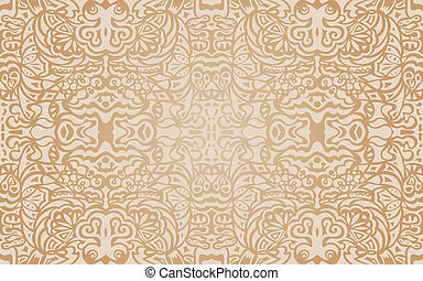 Beige luxury seamless pattern