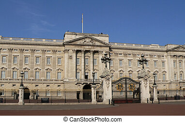 Buckingham palace - Queen's residence in London without...