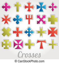 Conjunto, Cruces, vector