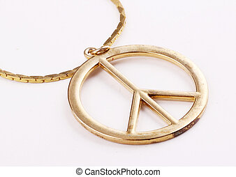peace sign - A peace sign as jewel