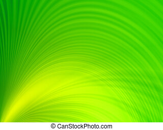 green waves, overflowing the tints of blue color on a white background