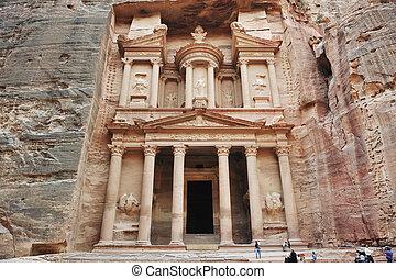 Petra, ancient city, Jordan