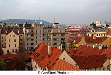 residential district in Prague