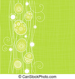 Easter background with spring motif
