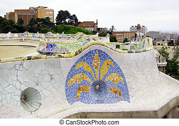 Park Guell - Park Guell in Barcelona...