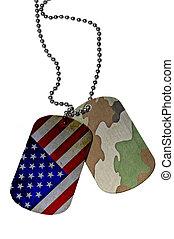 United States Army ID tag
