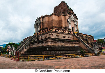 old pagoda in thailand