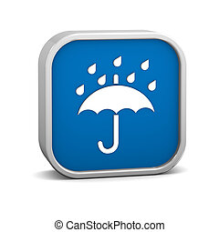 Keep Dry Sign - Keep Dry sign on a white background. Part of...