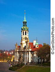 Loretta church in Prague.