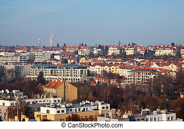 historical residential district in Prague